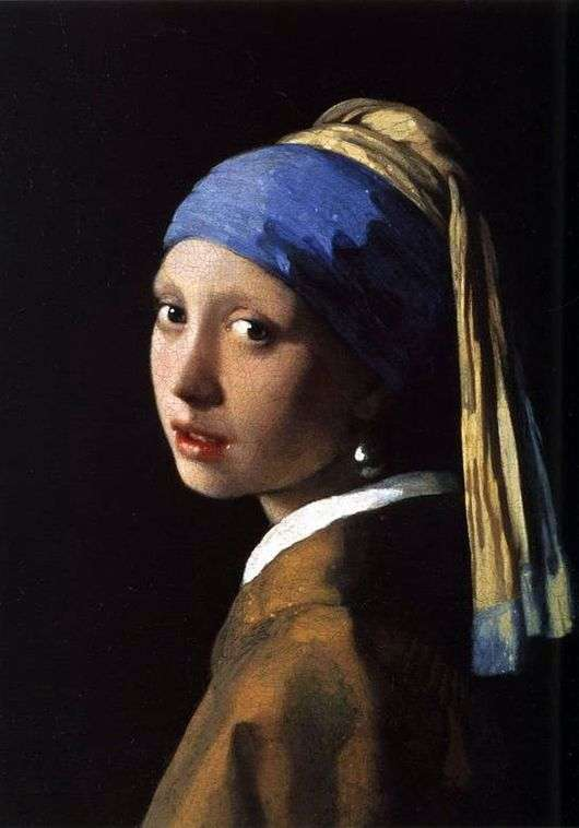 Описание картины Яна Вермеера «Девушка с жемчужной серёжкой»