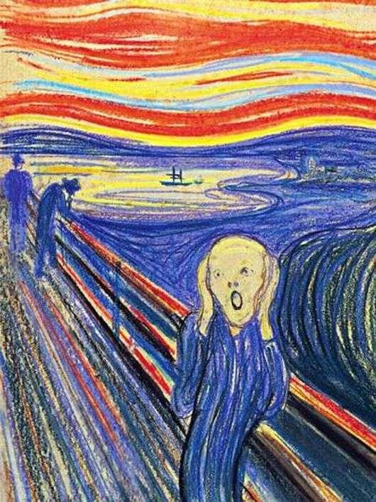 Описание картины Эдварда Мунка «Крик»