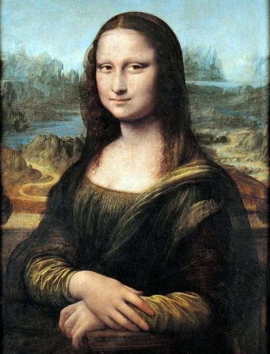 Описание картины Леонардо да Винчи Мона Лиза (Джоконда)