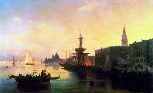 Описание картины Ивана Айвазовского «Венеция»