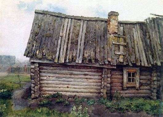 Описание картины Василия Сурикова «Изба»