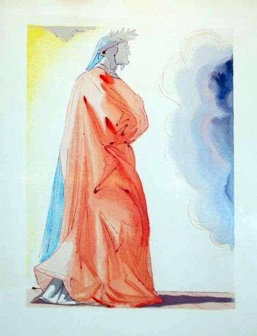 Описание картины Сальвадора Дали «Данте»