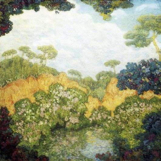 Описание картины Николая Крымова «Сосны»