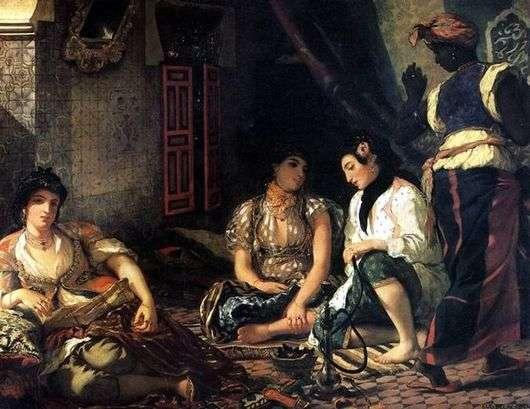 Описание картины Эжена Делакруа «Алжирские женщины»