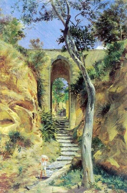 Описание картины Николая Ге «Мост в Вико»