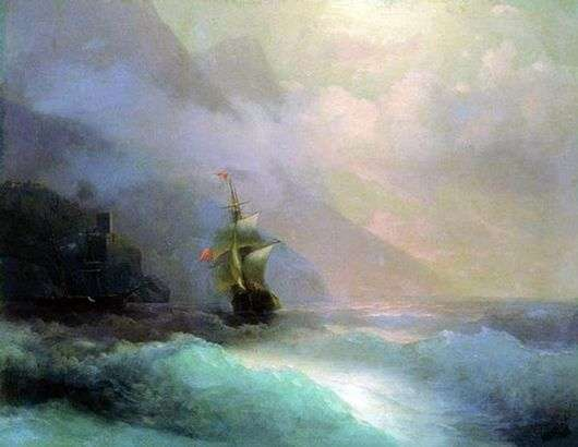 Описание картины Ивана Айвазовского «Морской пейзаж»