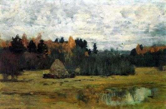 Описание картины Исаака Левитана «Поздняя осень»