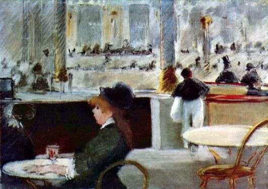 Описание картины Эдуарда Мане «В кафе»