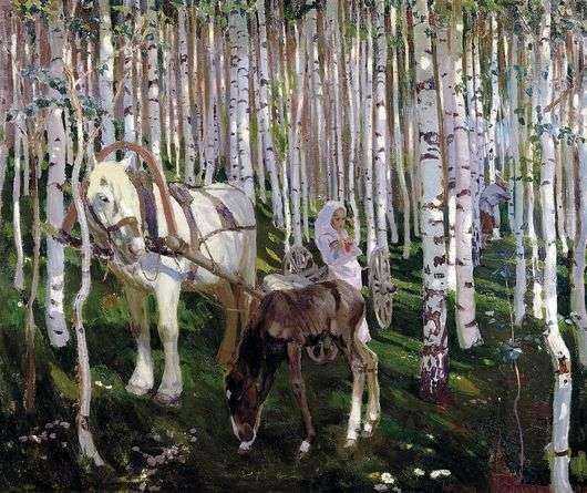 Описание картины Аркадия Рылова «В лесу»