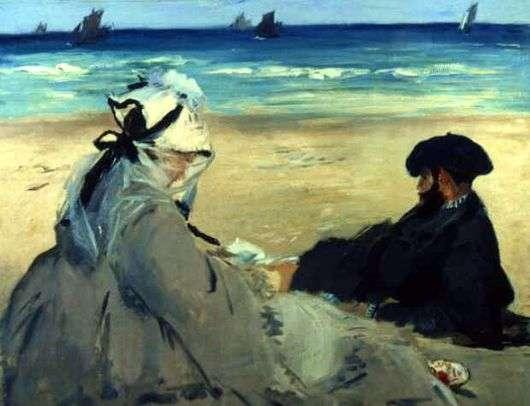 Описание картины Эдуарда Мане «На берегу»