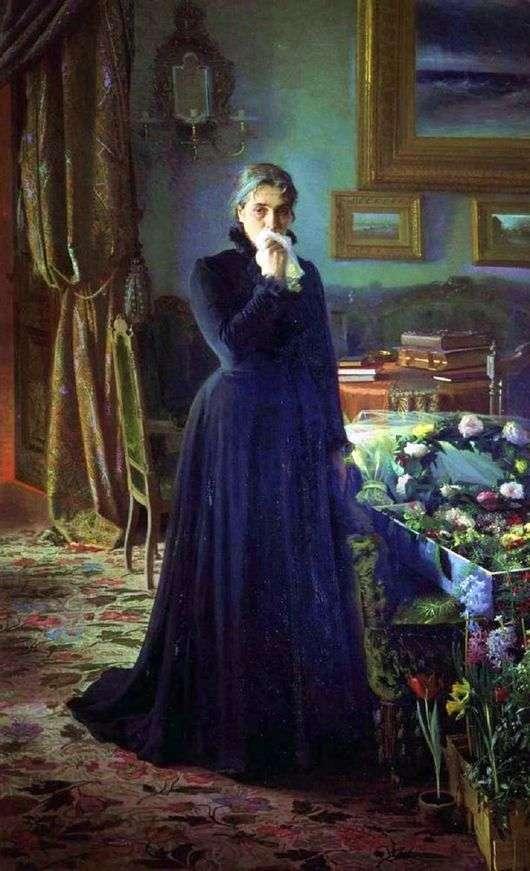 Описание картины Ивана Крамского «Неутешное горе»