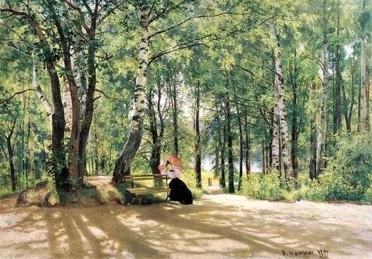 Описание картины Ивана Шишкина «На даче»