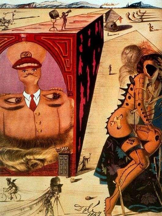 Описание картины Сальвадора Дали «Голливуд»