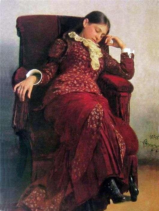 Описание картины Ильи Репина «Отдых»