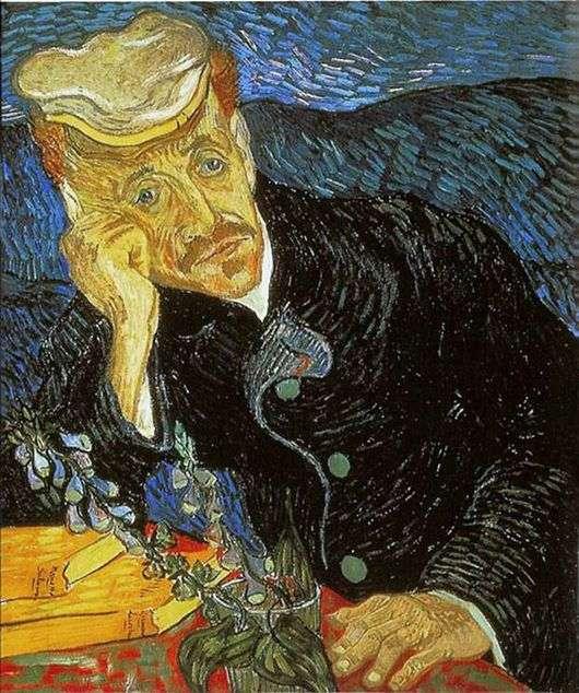 Описание картины Винсента Ван Гога «Портрет доктора Гаше»