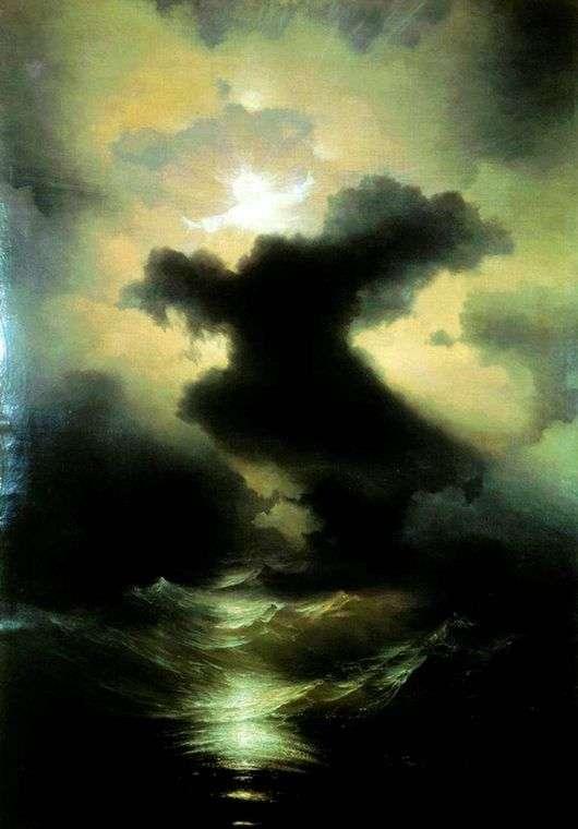 Описание картины Ивана Айвазовского «Хаос. Сотворение мира»