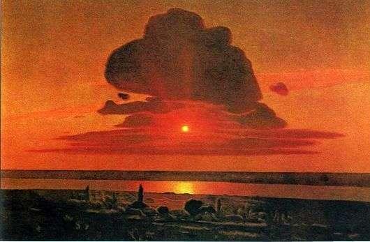 Описание картины Архипа Куинджи «Красный закат»