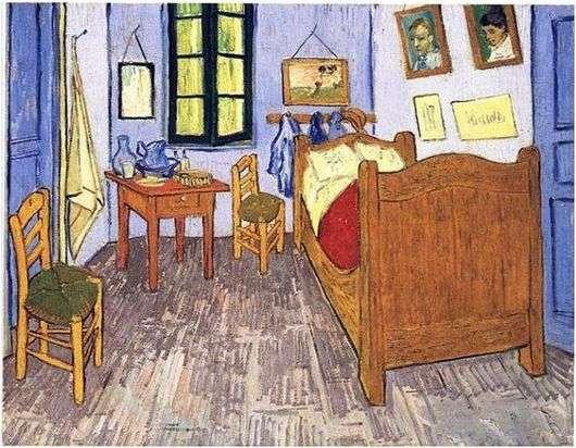 Описание картины Винсента Ван Гога «Спальня в Арле»