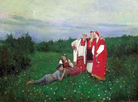 Описание картины Константина Коровина «Северная Идиллия»