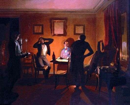 Описание картины Павла Федотова «Игроки»