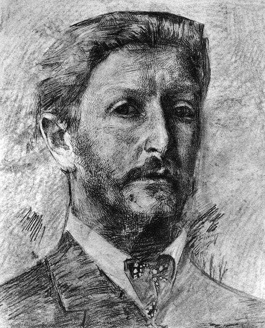 Описание картины Михаила Врубеля «Автопортрет»