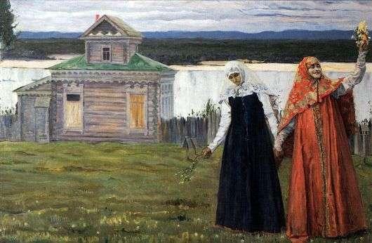 Описание картины Михаила Нестерова «Сестры»