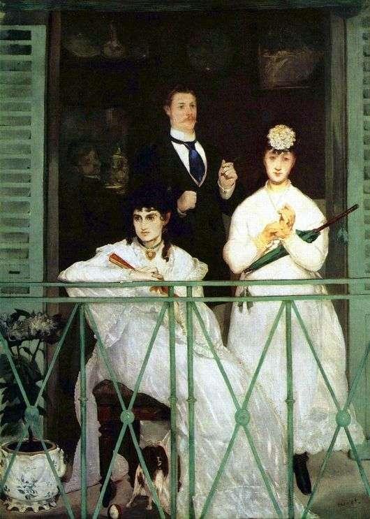 Описание картины Эдуарда Мане «Балкон»