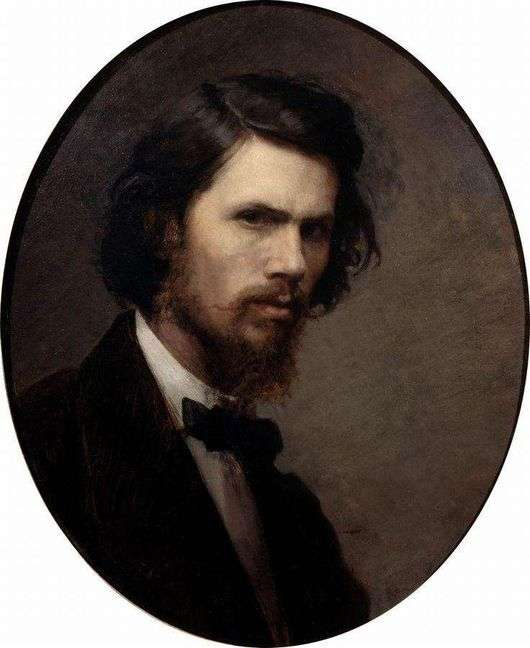 Описание картины Ивана Крамского «Автопортрет»