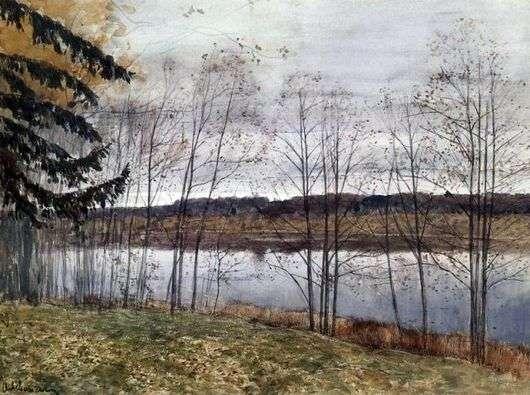 Описание картины Исаака Левитана «Осень (Октябрь)»