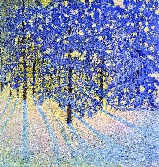 Описание картины Игоря Грабаря «Зимнее утро»