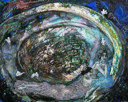 Описание картины Михаила Врубеля «Жемчужина»