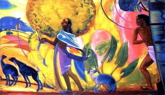 Описание картины Святослава Рериха «Весна»