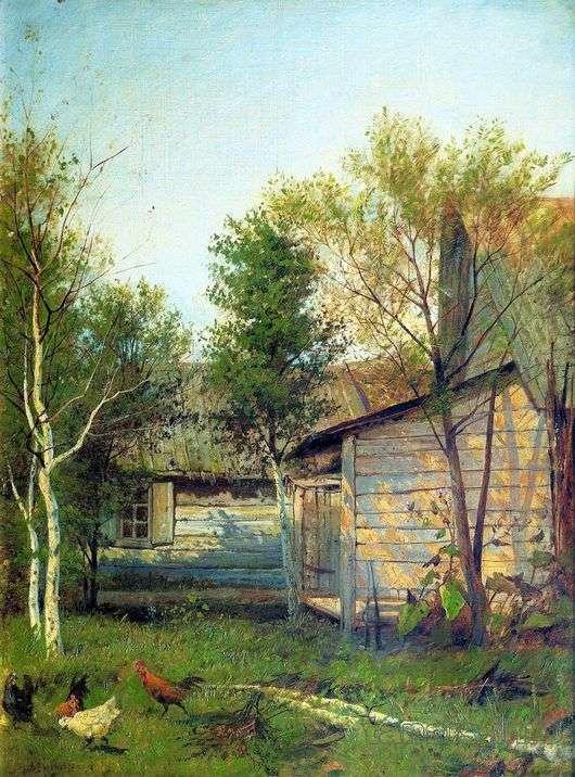 Описание картины Исаака Левитана «Солнечный день. Весна»