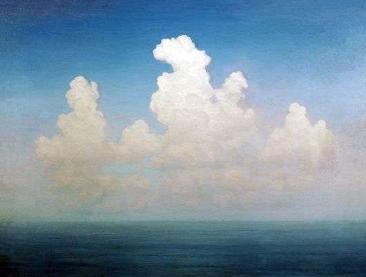 Описание картины Архипа Куинджи «Облако»