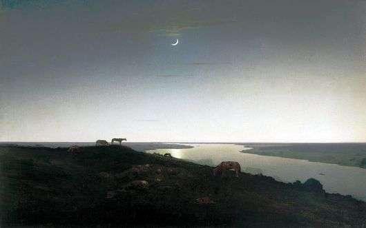 Описание картины Архипа Куинджи «Ночное»