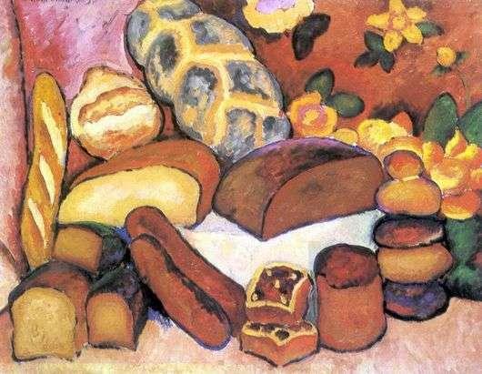 Описание картины Ильи Машкова «Хлебы»