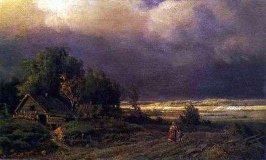 Описание картины Федора Васильева «Перед грозой»