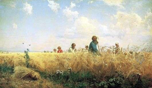 Описание картины Григория Мясоедова «Страдная пора»