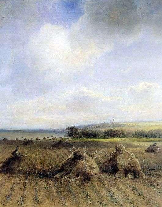 Описание картины Алексея Саврасова «К концу лета, на Волге»