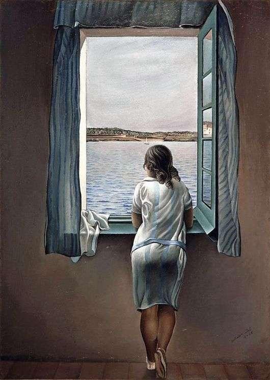 Описание картины Сальвадора Дали «Женщина у окна»