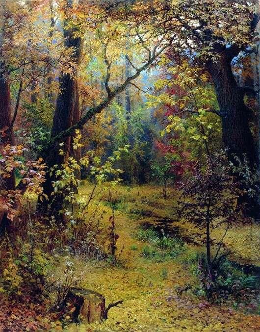 Описание картины Григория Мясоедова «Осеннее утро»