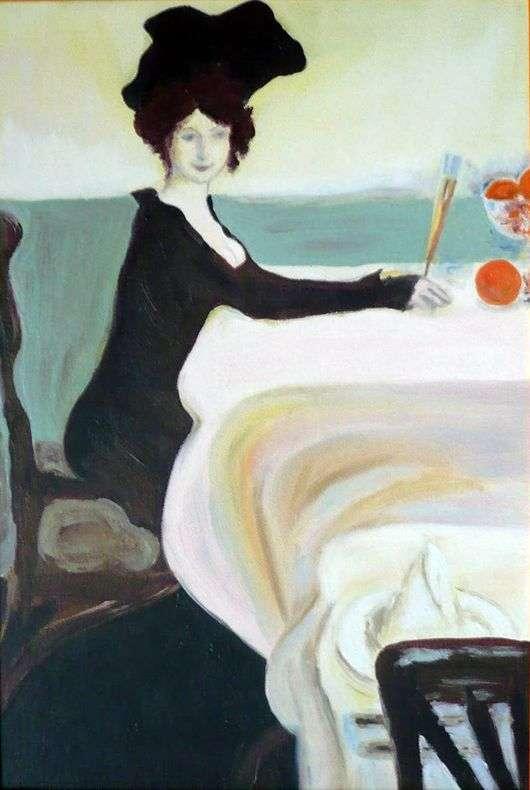 Описание картины Леона Бакста «Ужин»