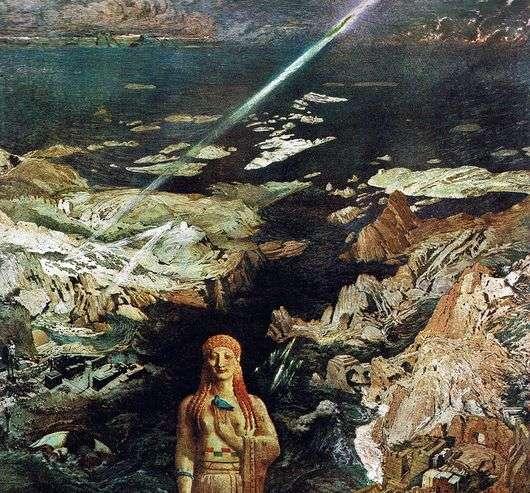 Описание картины Леона Бакста «Древний ужас»