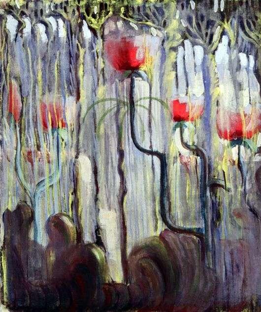 Описание картины Микалоюса Чюрлениса «Сотворения мира»