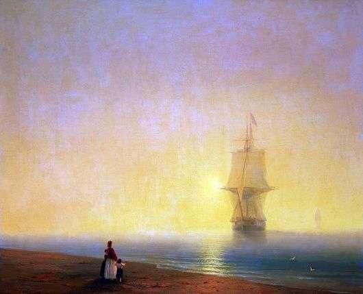 Описание картины Ивана Айвазовского «Утро на море»