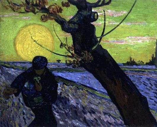 Описание картины Винсента Ван Гога «Сеятель»