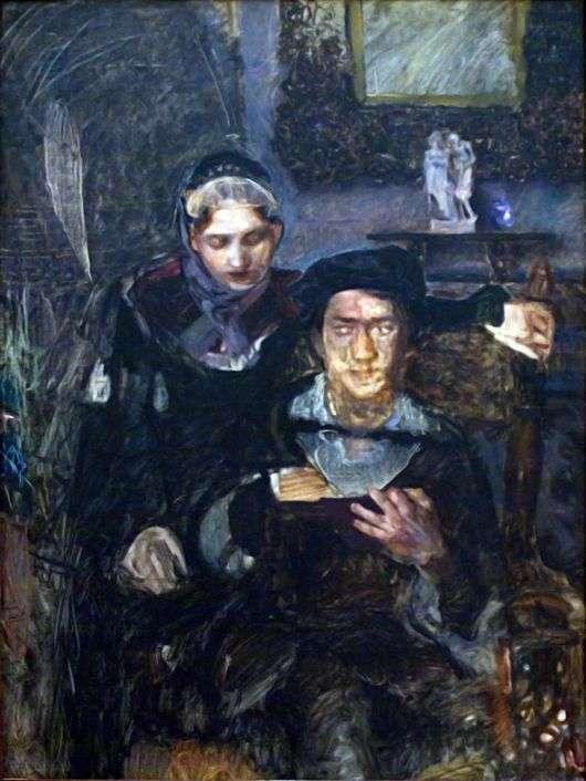 Описание картины Михаила Врубеля «Гамлет и Офелия»