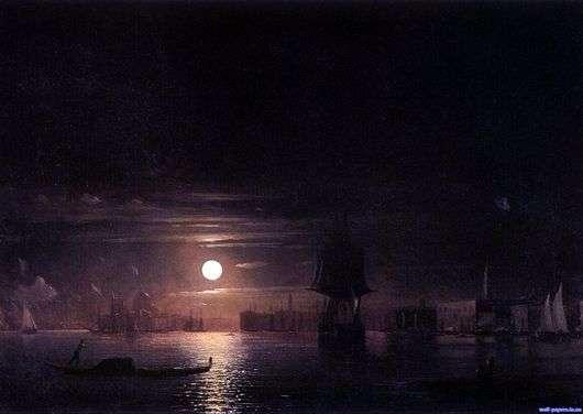 Описание картины Ивана Айвазовского «Ночь в Венеции»