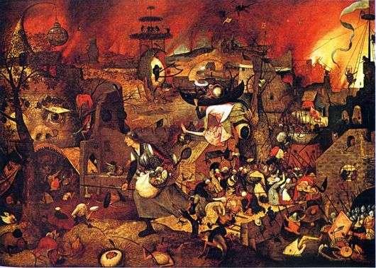 Описание картины Питера Брейгеля «Безумная Грета»