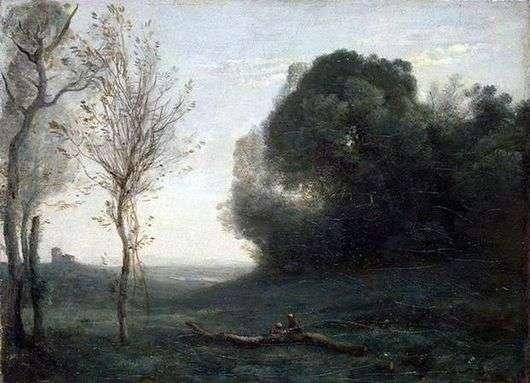 Описание картины Камиля Коро «Утро»